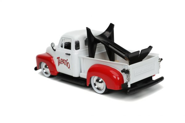 31968 1.24 hwr tapatio 1953 chevy pick up w charro man 6 - 1953 Chevrolet Pickup Truck - Jada - Hollywood Rides - Tapatio Charro Man (Does not include Tapatio hot sauce)