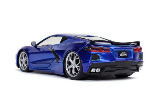 32537 1.24 btm 2020 corvette stingray c.blue 3 - 2020 CHEVROLET CORVETTE STINGRAY – CANDY BLUE JADA BTM