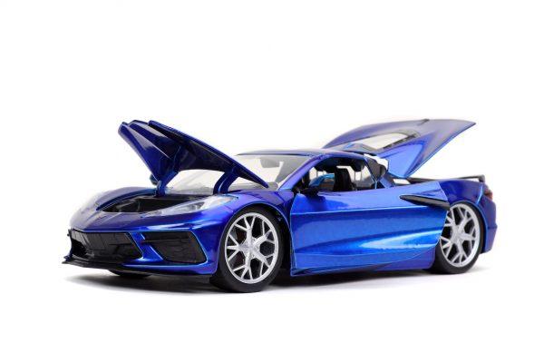 32537 1.24 btm 2020 corvette stingray c.blue 4 - 2020 CHEVROLET CORVETTE STINGRAY – CANDY BLUE JADA BTM