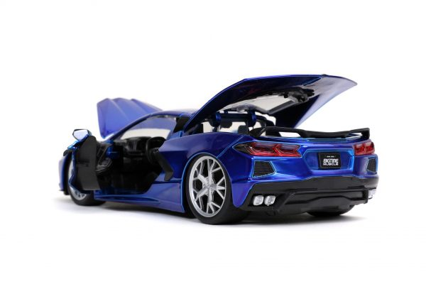 32537 1.24 btm 2020 corvette stingray c.blue 5 - 2020 CHEVROLET CORVETTE STINGRAY – CANDY BLUE JADA BTM