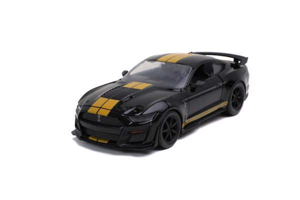 32661 1.24 btm 2020 ford mustang shelby gt500 g.black 1 scaled - 2020 Ford Mustang Shelby GT500 - BTM BY JADA - BLACK