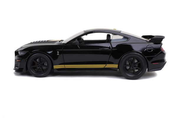 32661 1.24 btm 2020 ford mustang shelby gt500 g.black 2 scaled - 2020 Ford Mustang Shelby GT500 - BTM BY JADA - BLACK