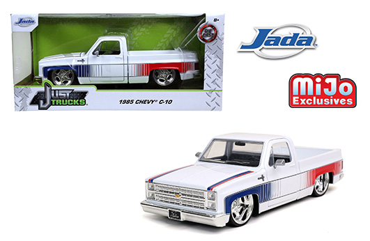 32684 - 1985 Chevrolet C10 Pick UP Truck - Jada Toys - w/sugar c wheels limited to 2400