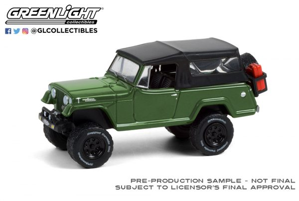 35190 a 1968 jeep jeepster commando w soft top and off road parts dark green deco b2b - 1968 Jeep Jeepster Commando with Soft Top and Off-Road Parts in Dark Green