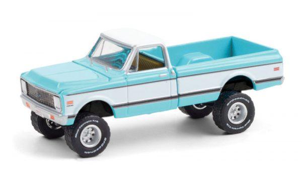 37220 d - 1972 Chevrolet K10 4X4 Pickup TRUCK in Turquoise (Lot# 764.1)