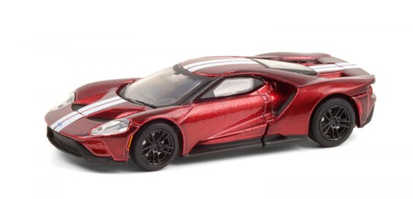 37220 e - 2017 Ford GT in Liquid Red with White Stripes (Lot #1392)