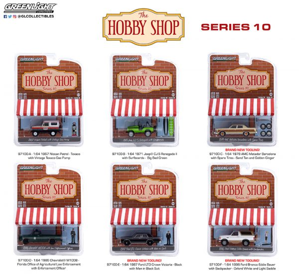 97100 1 64 the hobby shop 10 group pkg b2b - 1986 Chevrolet M1008 with Enforcement Officer Figure - Florida Office of Agricultural Law Enforcement