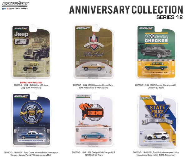 28060 1 64 anniversay collection 12 group pkg b2b 1 - 2021 Ford Police Interceptor Utility - New Jersey State Police 100th Anniversary