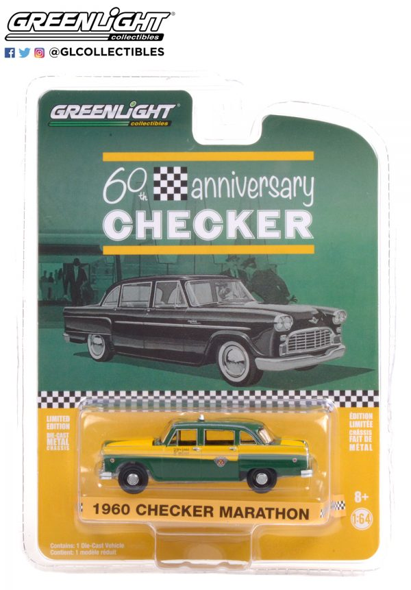 28060 c 1960 checker marathon a11 checker 60 years pkg b2b - 1960 Checker Marathon A11 - Checker 60 Years