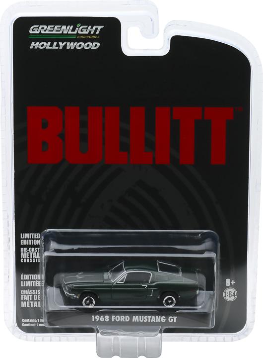 44721 1 64 1968 ford mustang gt fastback bullitt pkg frontb2b - Bullitt's 1968 Ford Mustang GT - Bullitt (1968)