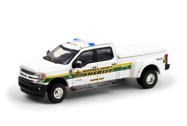 46060c - 2018 Ford F-350 Dually - Broward County, Florida Sheriff's Office - Marine Unit Solid Pack