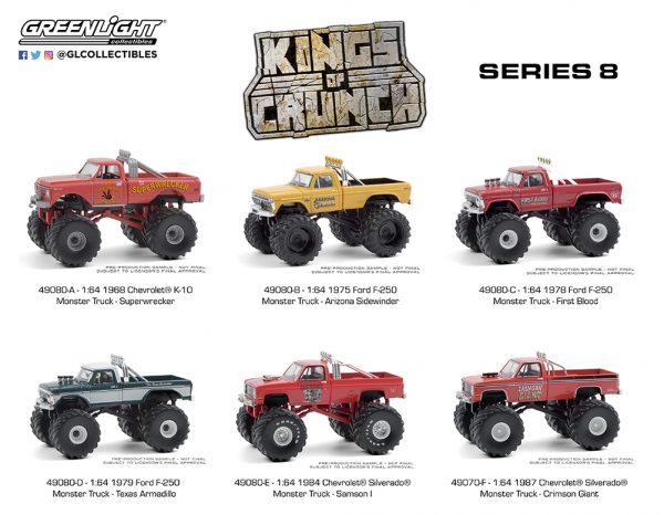 49080 1 64 kings of crunch series 8 group b2b 1 - Superwrecker - 1968 Chevrolet K-10 Monster Truck