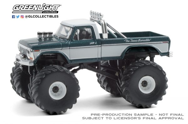49080 d texas armadillo 1979 ford f 250 monster truck front b2b - Texas Armadillo - 1979 Ford F-250 Monster Truck