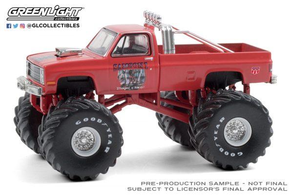 49080 e samson i 1984 chevrolet silverado monster truck front b2b - Samson I - 1984 Chevrolet Silverado Monster Truck