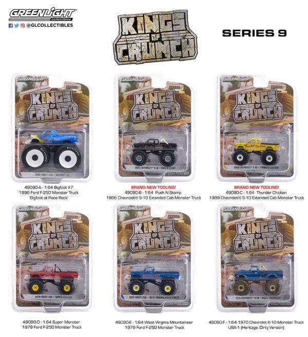 49090 1 64 kings of crunch series 9 group pkg b2b 1 - Super Monster - 1979 Ford F-250 Monster Truck