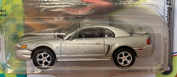 """jlsp029a2 1 - 1999 Ford Mustang GT Silver """"90's Muscle"""""""