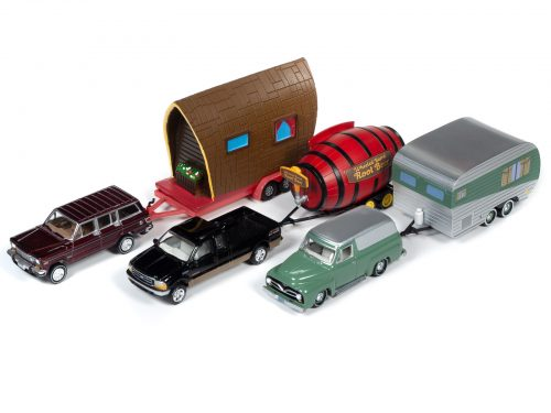 jltg002 group versionb 500x375 1 - 1981 Jeep Wagoneer w/Tiny House – Truck: Vintage Red & Tiny House: Tan Shake & Brown
