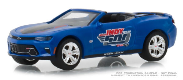 30004 - 2018 Chevrolet Camaro Convertible 500 Festival Event Car - 102nd Running Indy 500 Presented by PennGrade Motor Oil