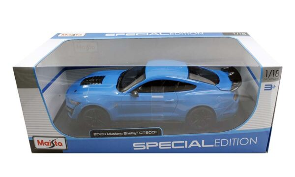 31452 blue - 2020 FORD SHELBY GT500 - BLUE