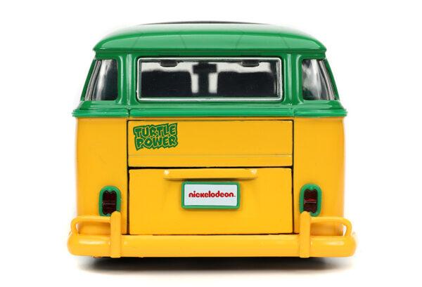 31786d - 1962 Volkswagen Bus with Leonardo Figure