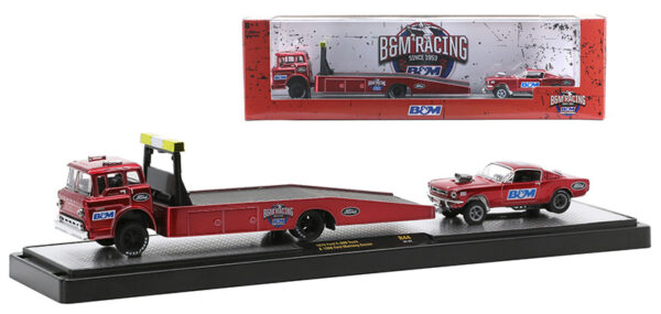 36000 44c - B&M Racing - 1970 Ford C-600 Truck and 1966 Ford Mustang Gasser