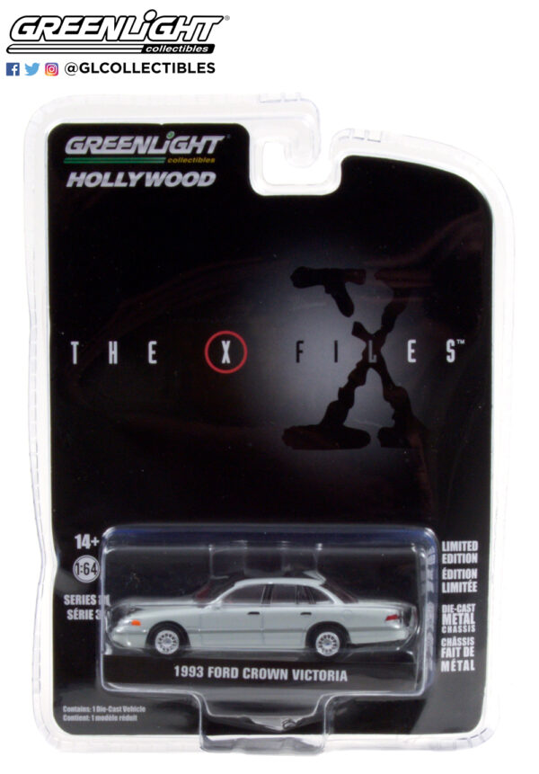44910 e the x files 1993 ford crown victoria washington d c unmarked agent pkg b2b - The X-Files (1993-2002 TV Series) - 1993 Ford Crown Victoria - Washington D.C. Unmarked Agent