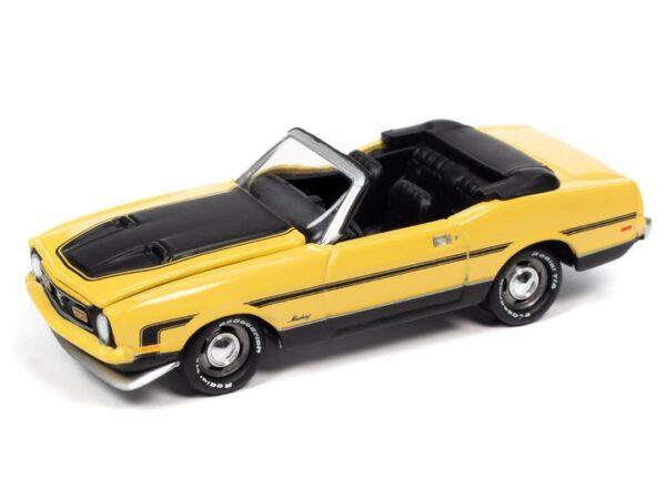 - 1972 Ford Mustang Convertible (Medium Bright Yellow, Black Stripes)