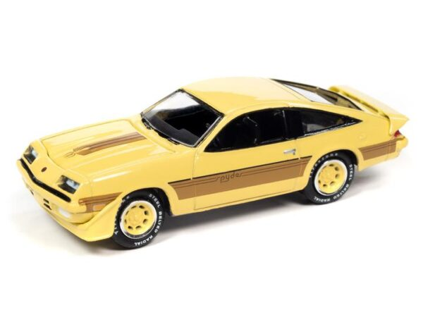 - 1980 Chevrolet Monza (Light Yellow, Gold Stripes)