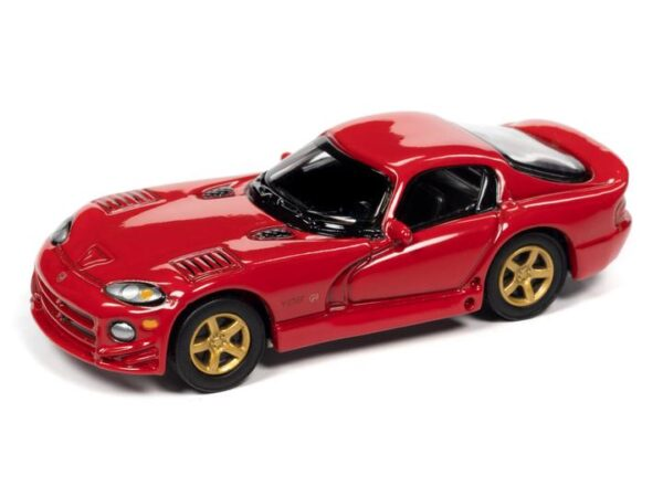 - 1997 Dodge Viper GTS Gold Package (Viper Red)