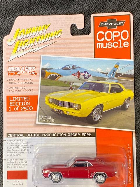jlmc023b1 1 - 1969 COPO Chevrolet Camaro ZL1 in Garnet Red