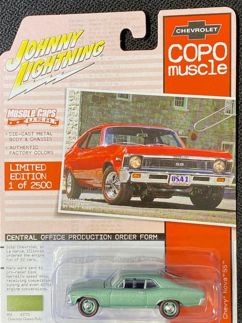 jlmc023b2 - 1968 Chevrolet COPO Nova SS (Grecian Green Poly)