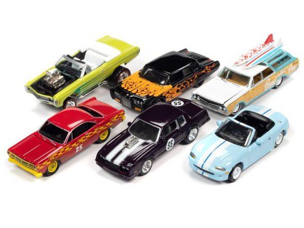 - 1966 Chrysler Imperial Custom (Black With Flames) (Gloss Black, Orange Flames)