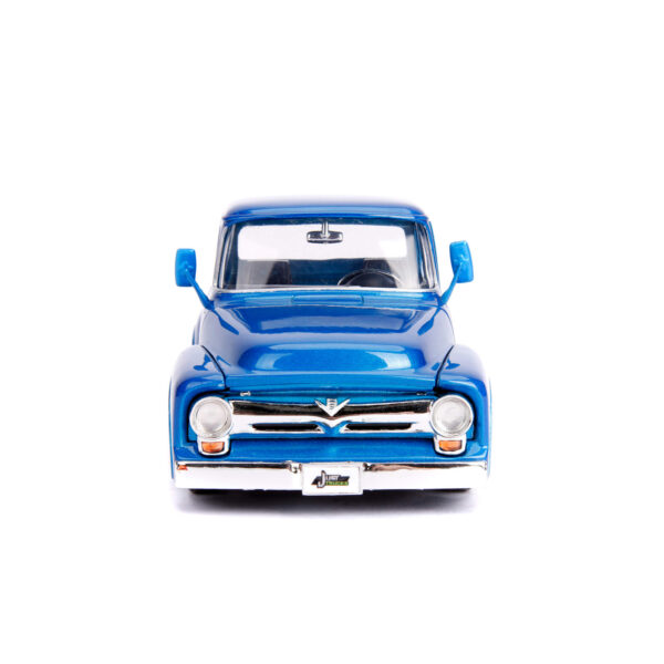 30709a - 1956 Ford F-100 Pick Up Truck with Extra Wheels, JUST TRUCKS