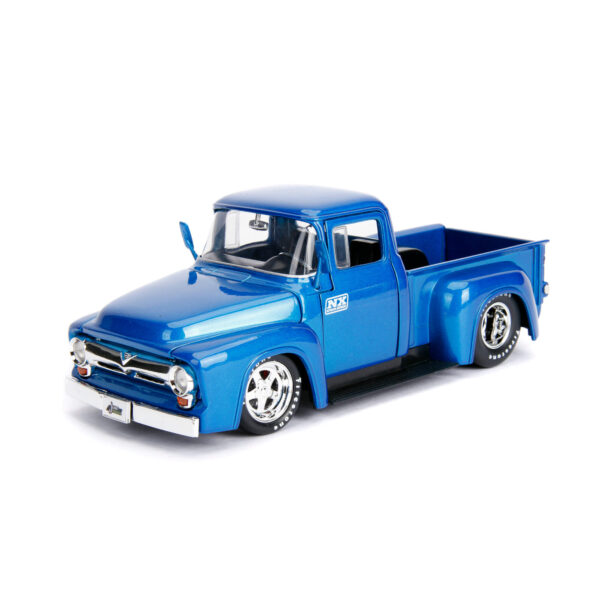 30709b - 1956 Ford F-100 Pick Up Truck with Extra Wheels, JUST TRUCKS