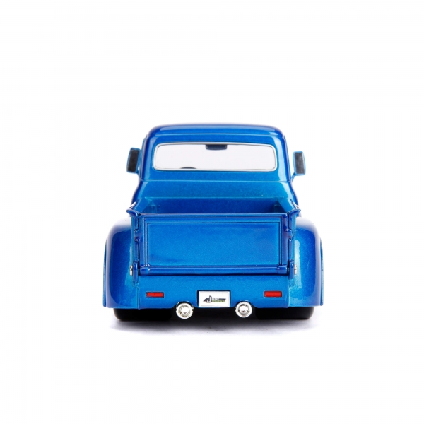 30709c - 1956 Ford F-100 Pick Up Truck with Extra Wheels, JUST TRUCKS