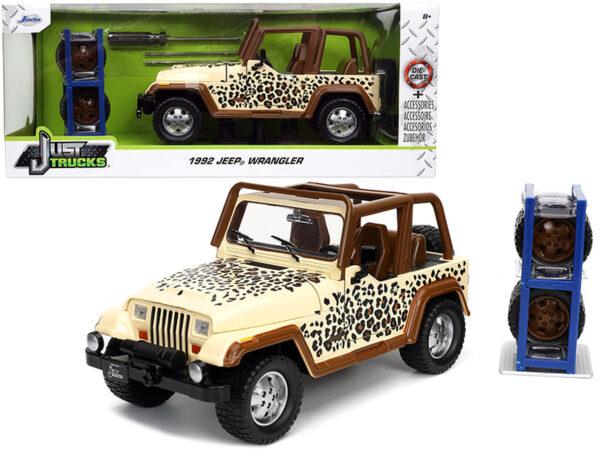 "32426 - 1992 Jeep Wrangler CHEETAH Graphics and Extra Wheels ""Just Trucks"" Series"