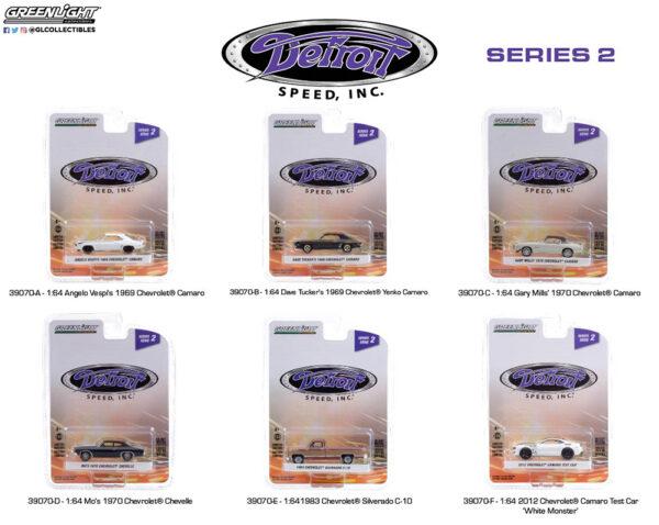 39070 1 64 detroit speed inc 2 group pkg b2b - 2012 Chevrolet Camaro Test Car 'White Monster'