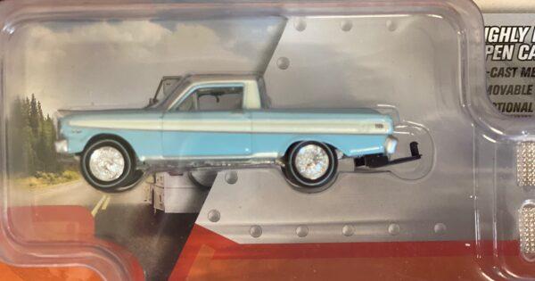 jlbt009b2 1 - 1964 FORD RANCHERO WITH OPEN CAR TRAILER