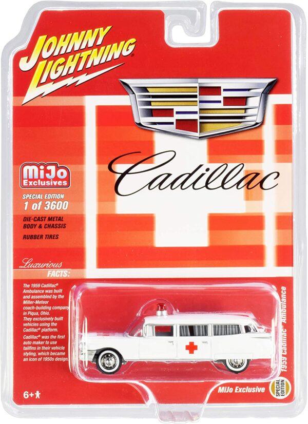jlcp7350 - 1959 CADILLAC AMBULANCE - MIJO EXCLUSIVE
