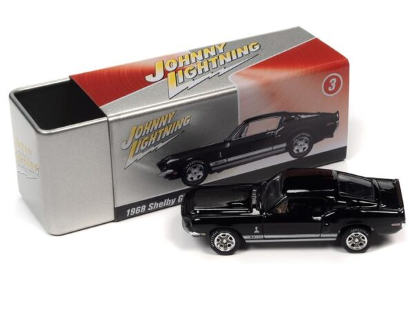 - 1968 FORD SHELBY GT350 (RAVEN BLACK) WITH COLLECTOR TIN