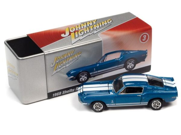 - 1968 SHELBY GT350 (ACAPULCO BLUE) WITH COLLECTOR TIN