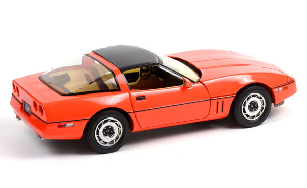 13595a - 1984 Chevrolet Corvette C4 - Hugger Orange - Jim Gilmore & AJ Foyt Limited Edition Special Order (Only 2 Produced)