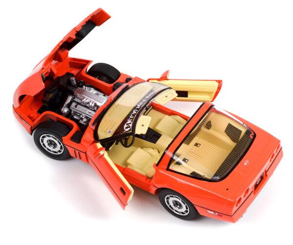 13595b - 1984 Chevrolet Corvette C4 - Hugger Orange - Jim Gilmore & AJ Foyt Limited Edition Special Order (Only 2 Produced)