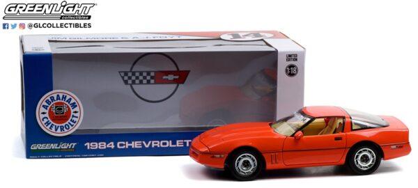 13595pkgb2b - 1984 Chevrolet Corvette C4 - Hugger Orange - Jim Gilmore & AJ Foyt Limited Edition Special Order (Only 2 Produced)