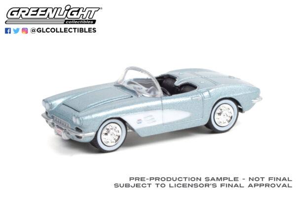 37230a - 1961 Chevrolet Corvette Convertible (Lot #681) - Sateen Silver with Black Interior