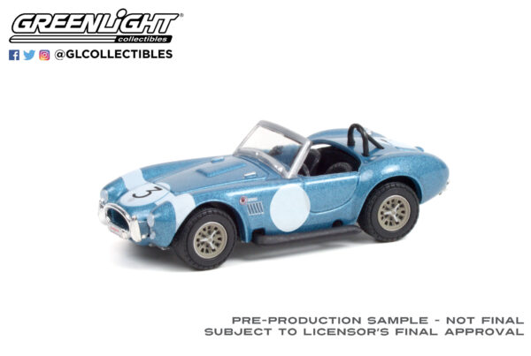 37230b - 1964 Shelby Cobra #3 FIA Bondurant Tribute (Lot #1321.1) - Viking Blue with Black Interior
