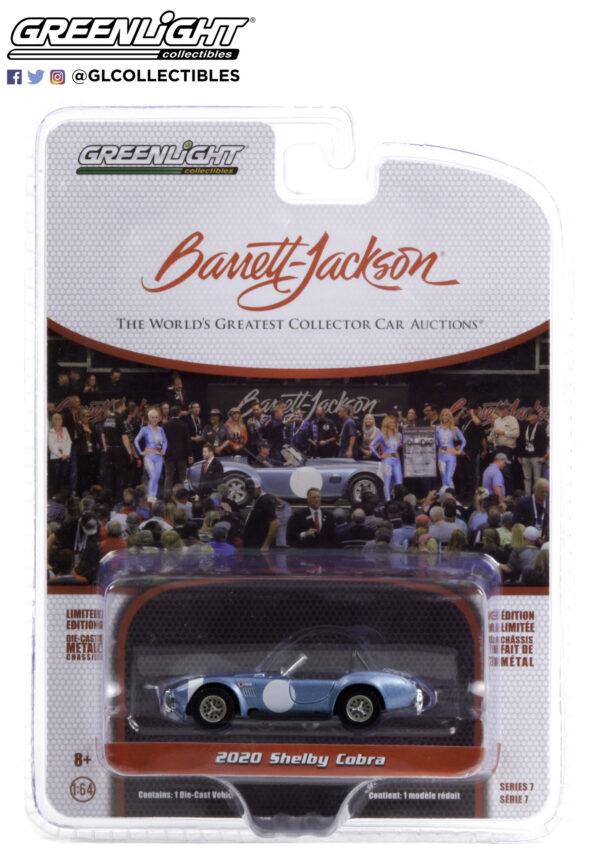 37230b1 - 1964 Shelby Cobra #3 FIA Bondurant Tribute (Lot #1321.1) - Viking Blue with Black Interior