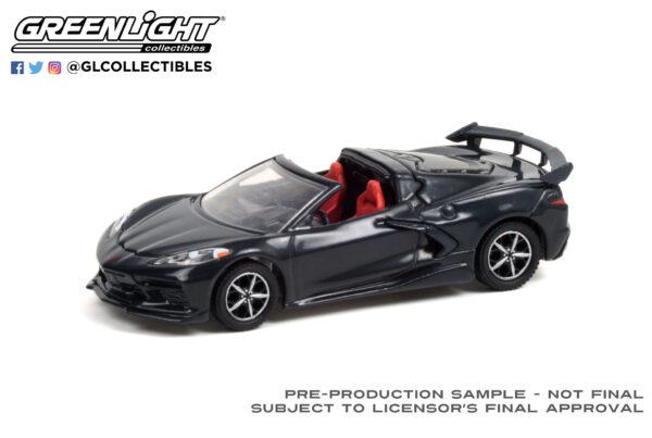 37230f - 2020 Chevrolet Corvette C8 Stingray (Lot #3002) - Shadow Gray Metallic with Adrenaline Red Interior