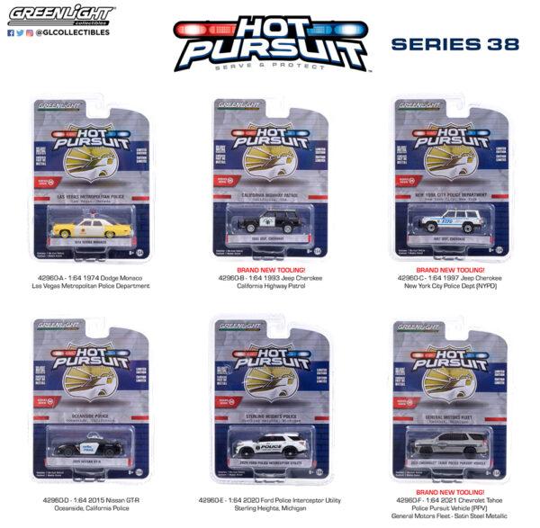 42960 1 64 hot pursuit 38 pkggroup b2b - 2021 Chevrolet Tahoe Police Pursuit Vehicle (PPV) - General Motors Fleet - Satin Steel Metallic