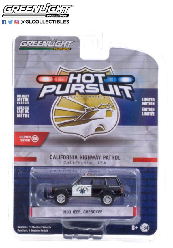 42960 b 1993 jeep cherokee california highway patrol pkg b2b - 1993 Jeep Cherokee - California Highway Patrol